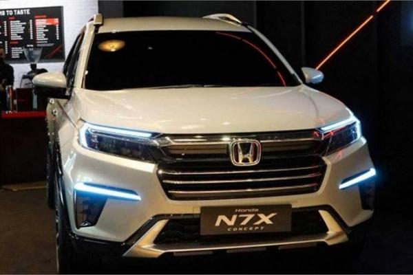 Honda N7X - đối thủ của Mitsubishi Xpander chốt lịch ra mắt