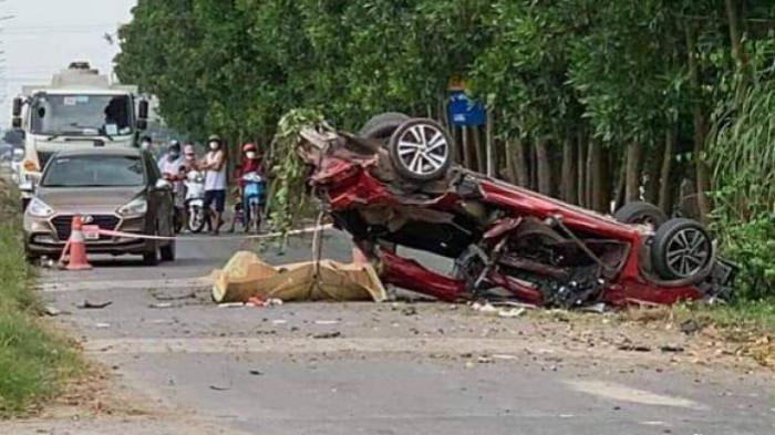 Tai nạn ở Bắc Ninh 5 người thương vong: Xe con quá hạn đăng kiểm 5 tháng 1