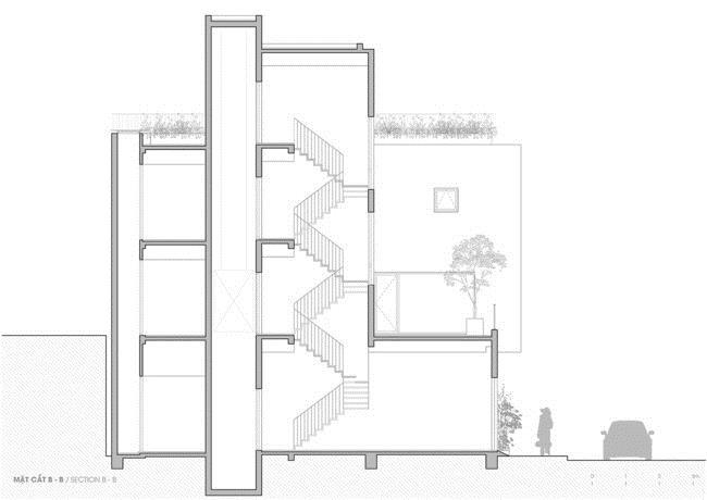 Thiết kế thông minh cho căn nhà hẹp trong hẻm ở Sài Gòn - 14