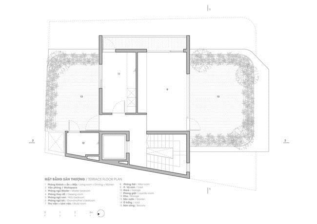 Thiết kế thông minh cho căn nhà hẹp trong hẻm ở Sài Gòn - 15