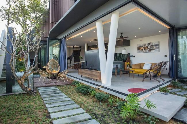Căn nhà Việt có ngoại hình khúc khuỷu giúp gia chủ tiết kiệm 30% chi phí sinh hoạt - 3