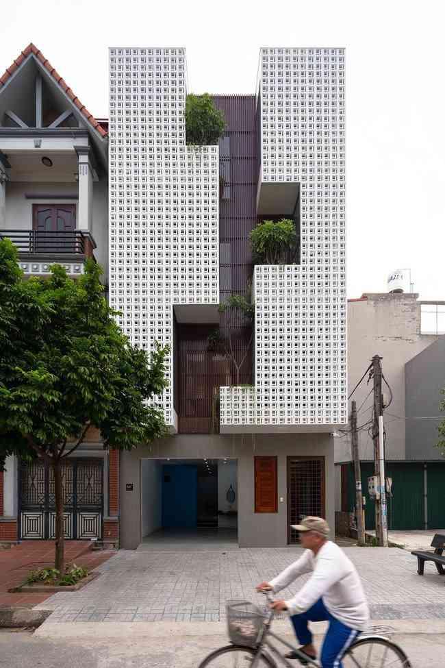 Căn nhà ở Hải Dương gây tò mò với thiết kế kì lạ - 3