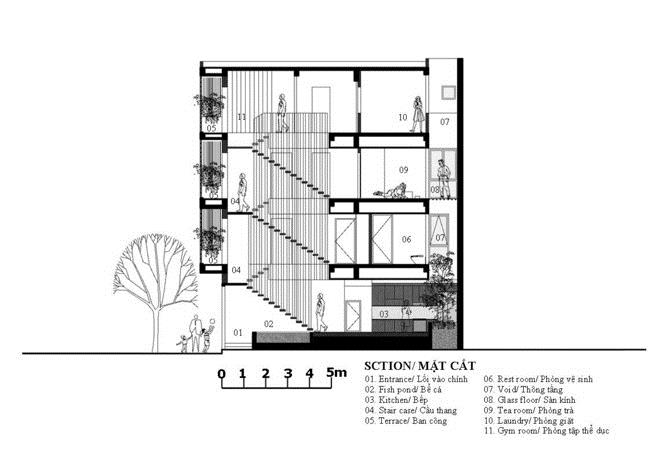 Căn nhà ở Hải Dương gây tò mò với thiết kế kì lạ - 21