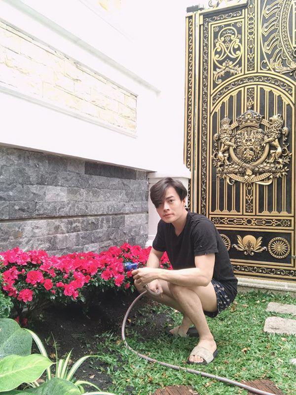 mc dai nghia lam vuon rau thuy canh tren san thuong, muot mat khong kem nha ly hai - 12