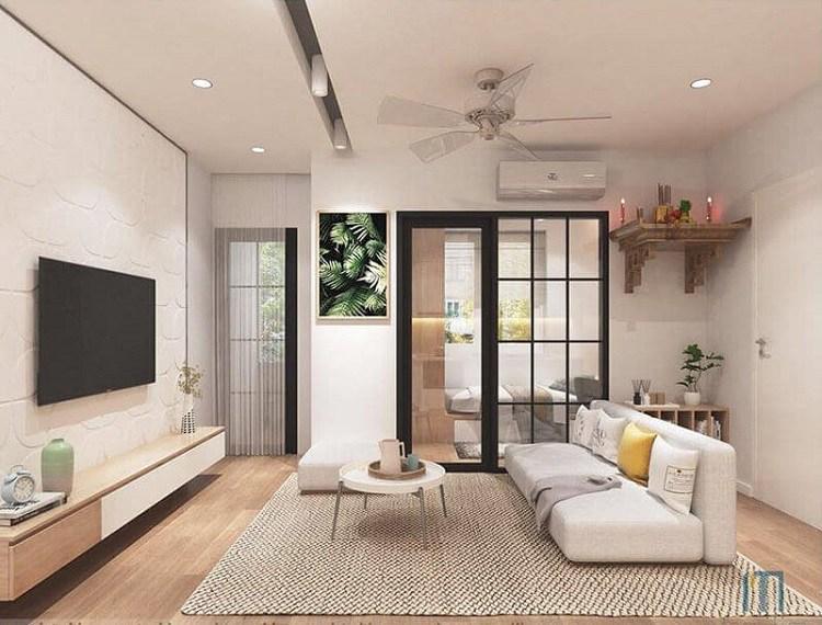 Gợi ý cho bạn mẫu phòng khách chung cư đẹp với 3 phong cách sau