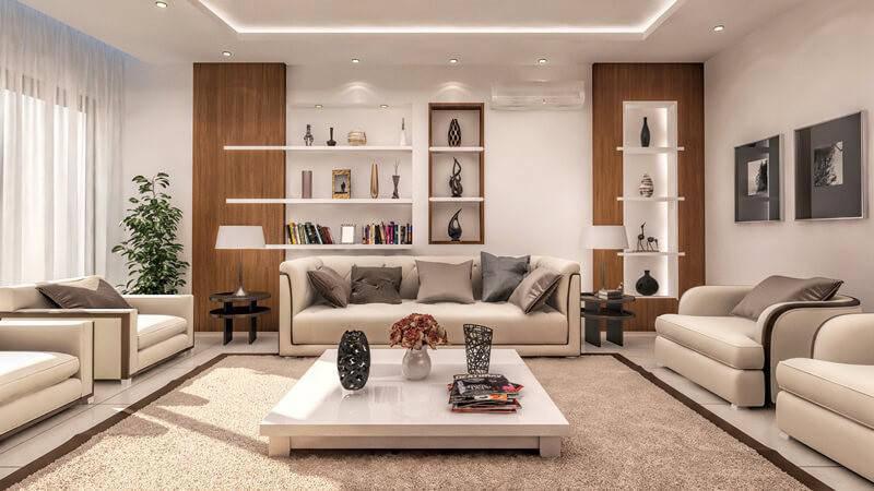 Bài trí ghế sofa chuẩn phong thủy để phú quý gõ cửa, quý nhân đến nhà - ảnh 1
