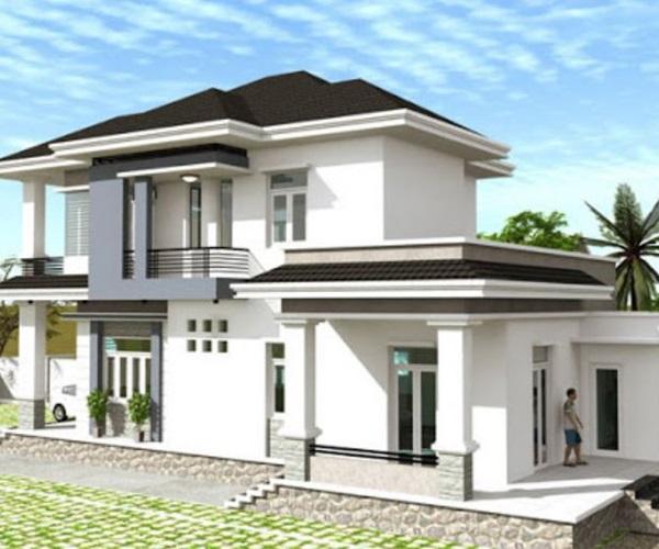 Mẫu nhà 2 tầng đẹp đơn giản hiện đại phù hợp cả nông thôn và thành thị - 17