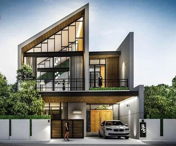 Mẫu nhà 2 tầng đẹp đơn giản hiện đại phù hợp cả nông thôn và thành thị - 29