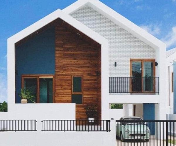 Mẫu nhà 2 tầng đẹp đơn giản hiện đại phù hợp cả nông thôn và thành thị - 26