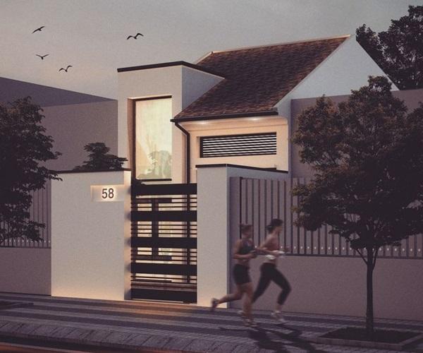 Mẫu nhà 2 tầng đẹp đơn giản hiện đại phù hợp cả nông thôn và thành thị - 7