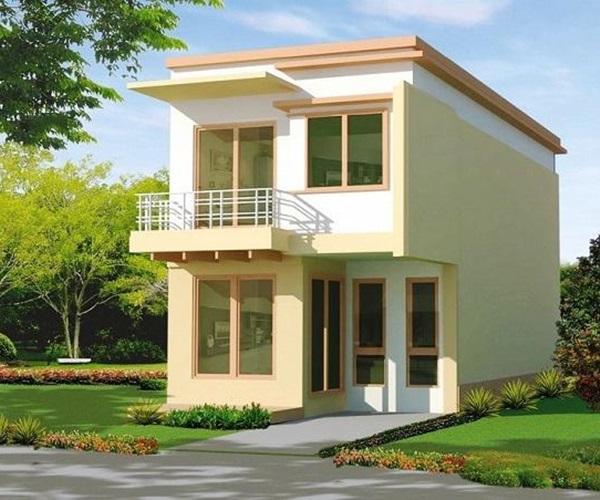 Mẫu nhà 2 tầng đẹp đơn giản hiện đại phù hợp cả nông thôn và thành thị - 8