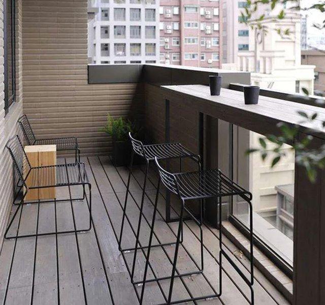 Các mẫu ban công đẹp cho nhà ống, chung cư đẹp hiện đại - 14