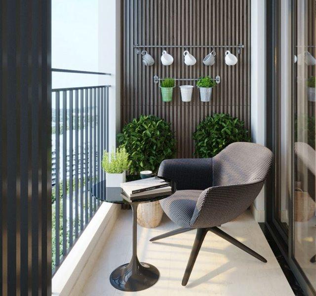 Các mẫu ban công đẹp cho nhà ống, chung cư đẹp hiện đại - 6