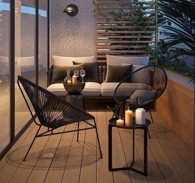 Các mẫu ban công đẹp cho nhà ống, chung cư đẹp hiện đại - 12