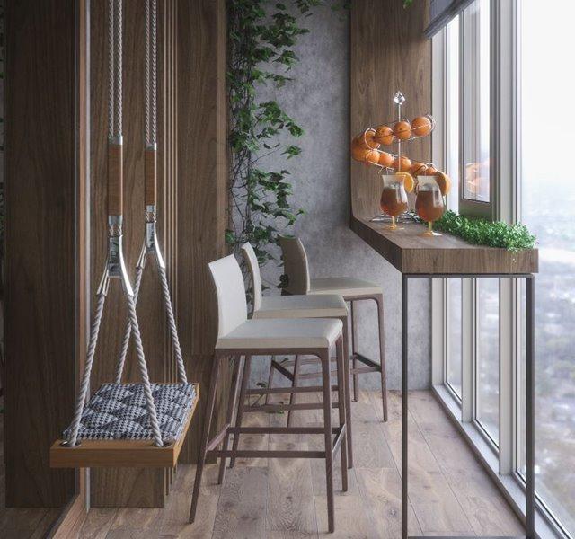 Các mẫu ban công đẹp cho nhà ống, chung cư đẹp hiện đại - 8