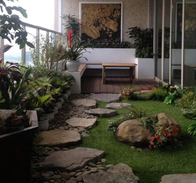 Các mẫu ban công đẹp cho nhà ống, chung cư đẹp hiện đại - 11
