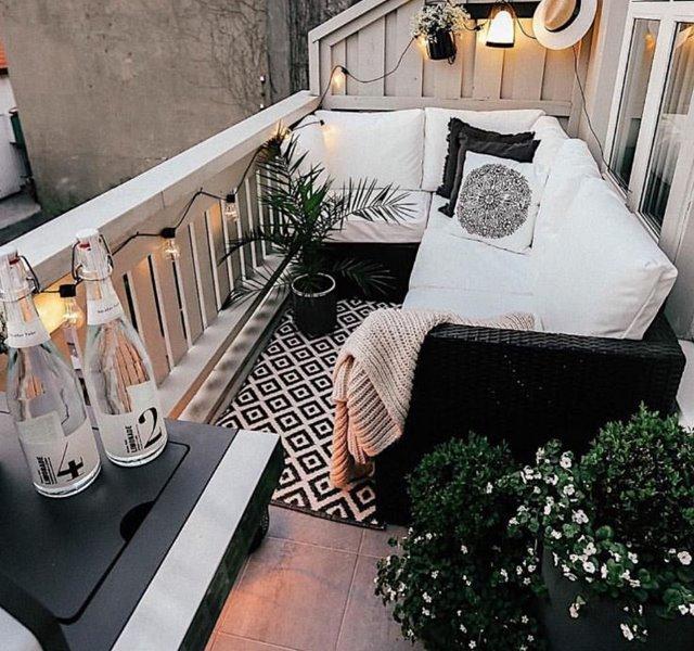 Các mẫu ban công đẹp cho nhà ống, chung cư đẹp hiện đại - 23