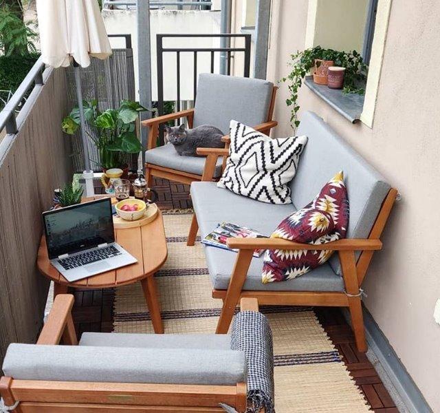 Các mẫu ban công đẹp cho nhà ống, chung cư đẹp hiện đại - 26