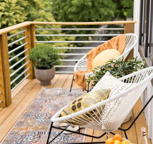 Các mẫu ban công đẹp cho nhà ống, chung cư đẹp hiện đại - 28
