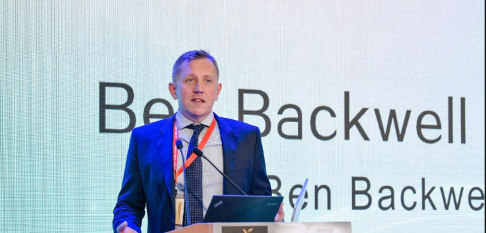 Ben Backwell, CEO of GWEC. Photo: Chinawind