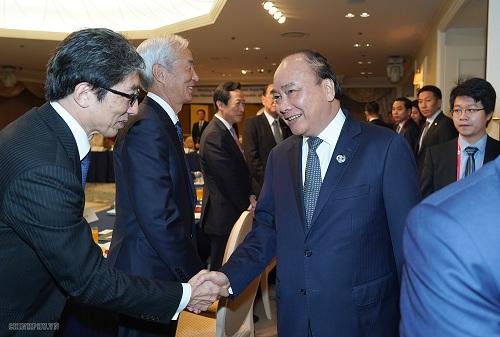 Vietnam's PM Nguyen Xuan Phuc at the meeting. Source: VGP