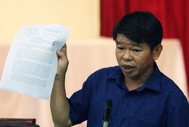 Nguyen Van Ton, general director of Vinaconex Water Supply Joint Stock Company. Photo: TTT