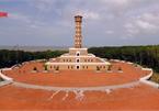 Visiting symbolic Hanoi Flag Tower at Vietnam's southern tip