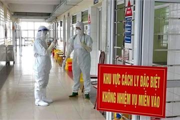 Thêm 1 ca mắc COVID-19 trong cộng đồng tại Thanh Hoá, là F1 của chuyên gia Trung Quốc