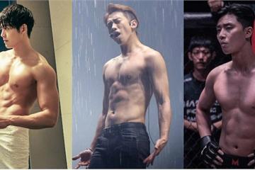 10 màn 'khoe múi' khiến chị em đổ gục của các nam diễn viên Hàn Quốc