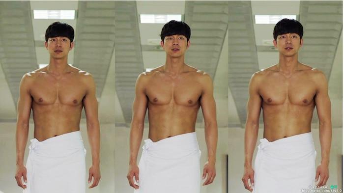 10 màn 'khoe múi' khiến chị em đổ gục của các nam diễn viên Hàn Quốc 6