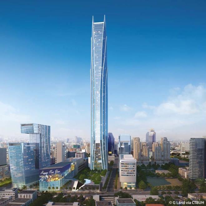 Những tòa nhà chọc trời dự kiến hoàn thành 2021 - 3