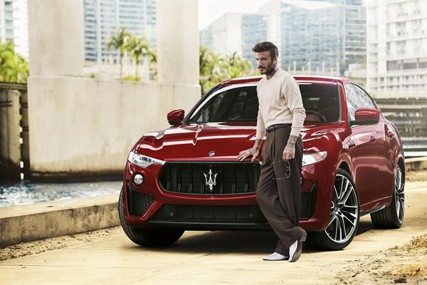 David Beckham trở thành đại sứ thương hiệu toàn cầu của Maserati