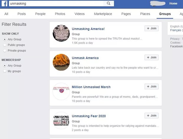 Facebook 'danh sap' tai khoan cua nhom tung tin gia ve khau trang hinh anh 2