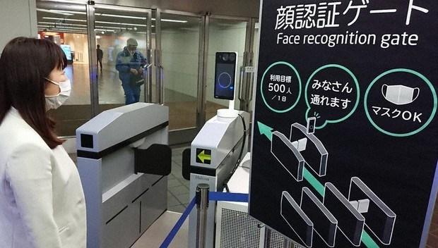 Nhật Bản phát triển công nghệ nhận diện khuôn mặt người đeo khẩu trang