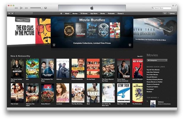 Apple doi mat voi vu kien lon ve dich vu phim, truyen hinh tren iTunes hinh anh 1