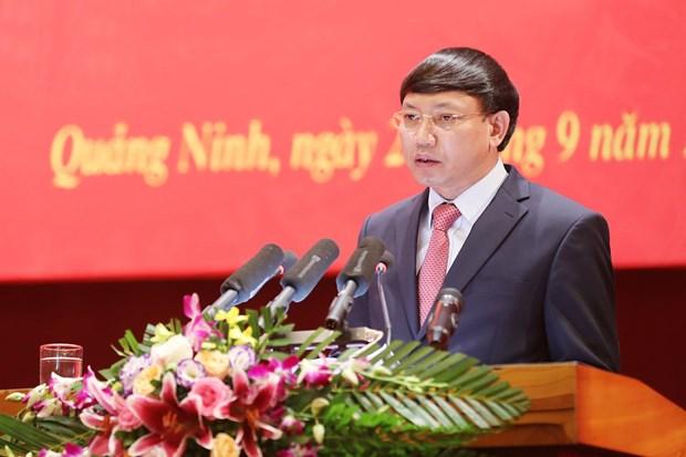 Trao quyet dinh chuan y chuc vu Bi thu Tinh uy Quang Ninh hinh anh 1