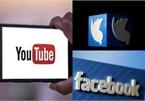 Nga có thể chặn Facebook và YouTube nếu vi phạm luật mới