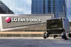 LG trình làng robot giao hàng thông minh
