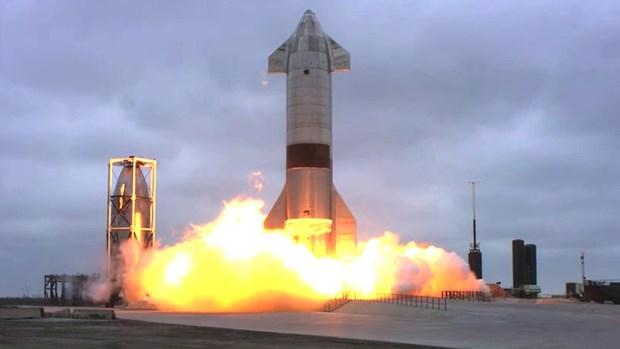 SpaceX thu nghiem ha canh thanh cong tau vu tru Starship hinh anh 1