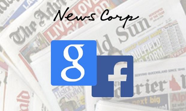 News Corp ky thoa thuan su dung tin tuc voi Google, Facebook hinh anh 1