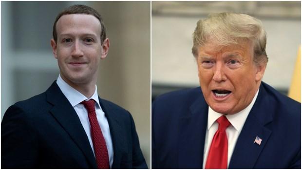 Zuckerberg: Mang xa hoi khong nen kiem tra bai dang cua ong Trump hinh anh 1