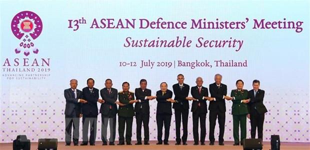 Bo truong Ngo Xuan Lich keu goi ASEAN thuc day gan ket noi khoi hinh anh 1