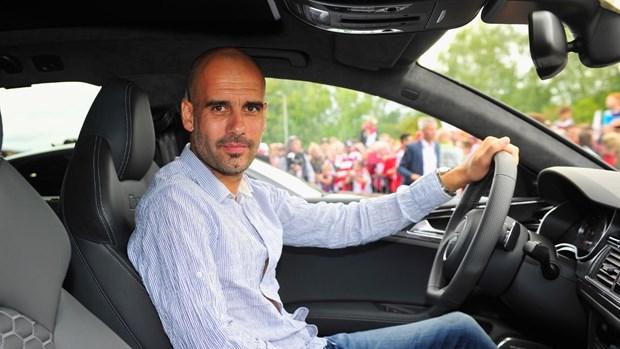 HLV Pep Guardiola: Tai xe te hai, pha hoai hang loat sieu xe hinh anh 1