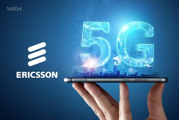 Ericsson du kien dat 190 trieu thue bao mang 5G vao cuoi nam nay hinh anh 1