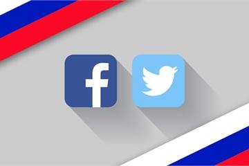 Nga phạt Facebook và Twitter của Mỹ vì không xóa nội dung bị cấm