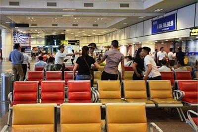 Cấm bay 1 năm khách đánh chảy máu đầu nhân viên an ninh sân bay ở Thanh Hóa