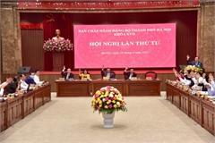 Bí thư Thành ủy Hà Nội: Cán bộ, đảng viên trong toàn hệ thống chính trị thành phố nêu cao tính tiên phong, quyết tâm hành động