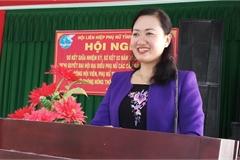 Khiển trách Chủ tịch Hội Liên hiệp Phụ nữ tỉnh Bến Tre
