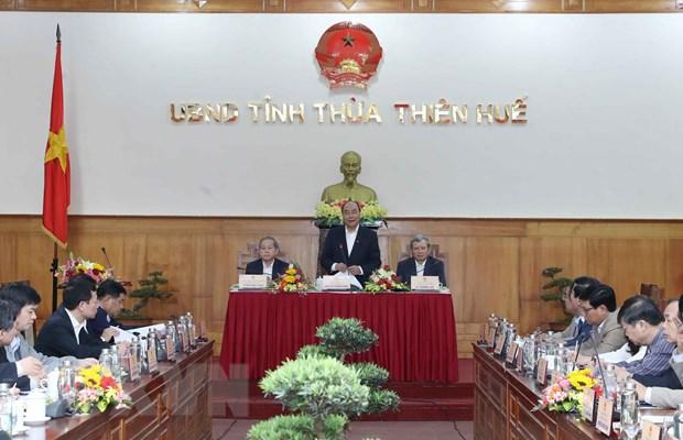 Thu tuong: TT-Hue can phat trien toan dien hon trong thoi gian toi hinh anh 1
