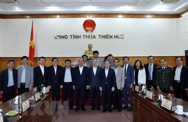 Thu tuong: TT-Hue can phat trien toan dien hon trong thoi gian toi hinh anh 2